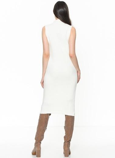 Su Moda Elbise Beyaz